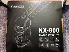 KuangRen KX-800 Macro Twin Lite for Sony A7R Cameras