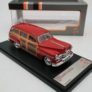 Premium X 1:43 Dodge Coronet Woody Wagon 1949 Bordeaux PRD563 Diecast Models Car