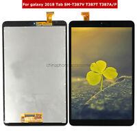 FIT For Samsung Galaxy Tab A 8.0 2018 SM-T387 T387A T387T LCD Touch Screen Black