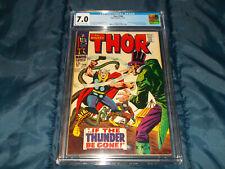Thor #146 CGC 7.0 F/VF (Marvel - 11/67) Inhumans begin!