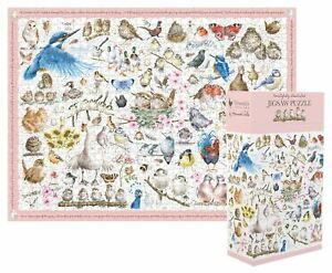 Wrendale Designs 100 Piece Jigsaw Puzzle - Feathered Friends
