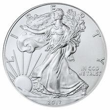 2017 1 oz American Silver Eagle $1 Coin Gem BU Brilliant Uncirculated