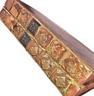 RARE 2 Volume HUGE Folio Leather Bound Books - 1779 Decretales Gregorii Papae IX