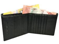 NEW SLIM Wallet✠ MENS bifold✠ Real Leather ✠ 10 Card slots ✠ Front pocket wallet