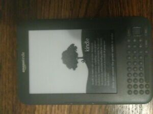 Amazon Kindle Keyboard (3rd Generation) 4GB, Wi-Fi + 3G (Unlocked), 6in - Gray