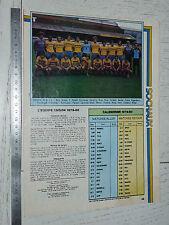 CLIPPING POSTER FOOTBALL 1979-1980 FC SOCHAUX MONTBELIARD FCSM BONAL LIONCEAUX