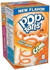 Kellogg's Pop Tarts Frosted Crush Orange Toaster Pastries 14.1 oz Box