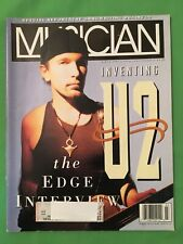 New listing Inventing U2, The Edge Interview, Musician Magazine back issue, March 1992
