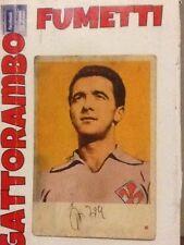 Figurina Cartonata N.175 Orzan Alberto Rarissima-fiorentinaEd.Edj Calciocampioni