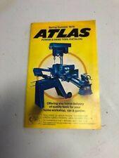 Vintage Atlas Tools Catalog Hand & Power 1979