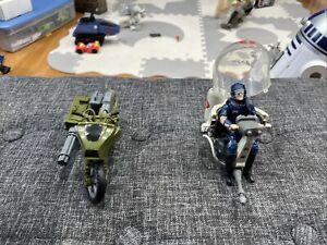 2008 GI Joe 25th Anniversary RAM Cycle & Cobra Flight Pod Loose