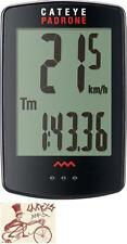 CATEYE PADRONE WIRELESS BLACK BICYCLE SPEEDOMETER COMPUTER