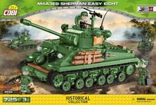 COBI M4A3E8 Sherman Easy Eight  /  2533 /  725 blocks  WWII US tank ,