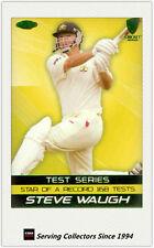 2004-05 Cricket Australia Trading Cards STEVE WAUGH TRIBUTE SW1-TEST