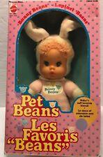 Mattel 1983 PET BEANS BUNNY BEANS NRFB