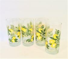 Libbey Glass 16oz Lemon Lemonade Tumblers - Set of 4