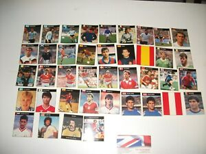 ORBIS World cup ITALIA 90 x40 STICKERS job lot Bundle NEW UNUSED