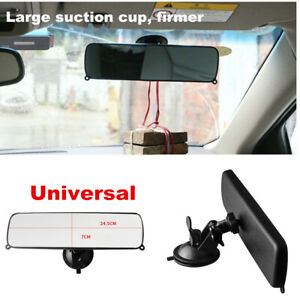 Rear View Suction Cup Driving Instructor Mirror Wide Angle Universal Anti-glare