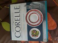 Corelle livingware 16-piece dinnerware set