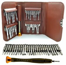 ACENIX New Brown Colour Leather Wallet Precision Screwdriver Set 29 in 1 Torx
