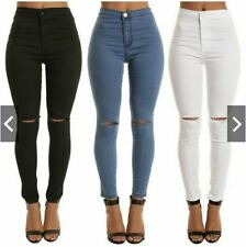 NK Knee - Cut High Waist Stretchable Jeans