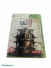 Saw II 2 Flesh & Blood Microsoft Xbox 360 System Game PAL UK Version -Rare Find-