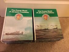 The Ocean World of Jacques Cousteau, Complete Set, Volumes 1-20, 1975
