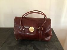 Jasper Conran Brown Leather  shoulder Vintage Bag