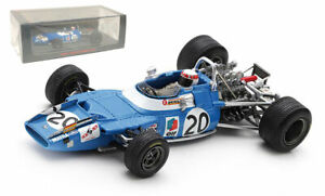 Spark S7192 Matra MS80 #20 Winner Italian GP 1969 - Jackie Stewart 1/43 Scale