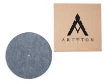 Black Cork Felt Turntable Record Mat Vinyl 4mm Arteton LP Audiophile GERMANY LG