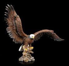 Adler Figur mit ausgebreiteten Flügeln - Vogel Seeadler Raubvogel Dekostatue