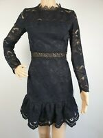 Two Sisters the Label Black Lace Formal Party Dress / Size 6