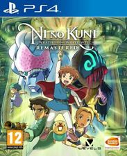 Ni No Kuni Wrath of the White Witch Remastered (PS4)  BRAND NEW AND SEALED