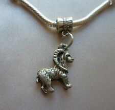 1 x Goat Farm Animal Tibetan Silver Pendant Charm fit European Bracelet Necklace