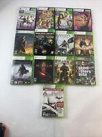 Xbox 360 Games LOT Kinect Diablo III Bioshock Fable Halo