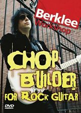 Chop Builder for Rock Guitar Berklee Workshop Series Instructional Gui 050448015