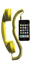 Hi-Fun Hi-RIng Cornetta Vivavoce YELLOW/GIALLO per Cellulari iPhone iPod iPad