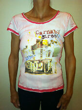 """LADIES """"CARNABY STREET"""" SHORT SLEEVE TOP BY F2 CLOTHING  (FROM EUROPE) - MEDIUM"""