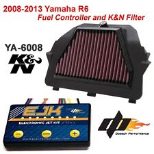 08-14 Yamaha YZF R6 K&N Performance Air Filter and EJK EFI Controller YA-6008