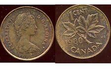 CANADA 1 cent  1980  ( bis )