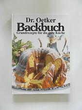 Dr Oetker Backbuch Grundrezepte für die gute Küche Kochbuch Backen