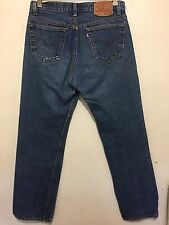 Vintage 90's Levis 501 Jeans No Red Line Or Big E Sz 34x34 Made In USA