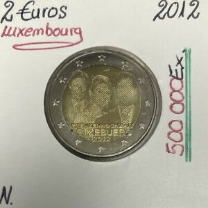 Luxembourg - 2 Euro 2012 - Le mariage
