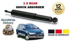 FOR TOYOTA PICNIC 2.0 2.2D 1996-2001 NEW 1 X REAR SHOCK ABSORBER SHOCKER