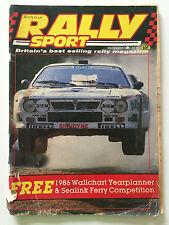 Rally Sport Magazine December 1985