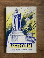 VERDUN Illustrated Historic Guide World War I France Battlefields 1960s