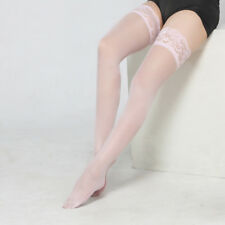63bb83298 Womens Lace Thigh-Highs Stockings Suspenders Garter Belt Suspender Set  Lingerie