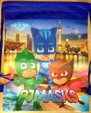 New Pj Masks Library Drawstring Swimming Lolly Loot Bag