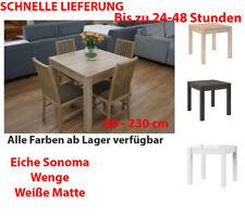 Tisch Küchentisch Quadratisch Esstisch 80x80cm Ausziehbar Auf 230cm Eiche  Sonoma