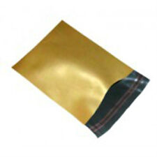 """50 Gold 17""""x24"""" Mailing Postage Postal Mail Bags"""